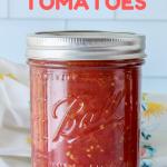 How to Can Tomatoes | JenniferCooks.com