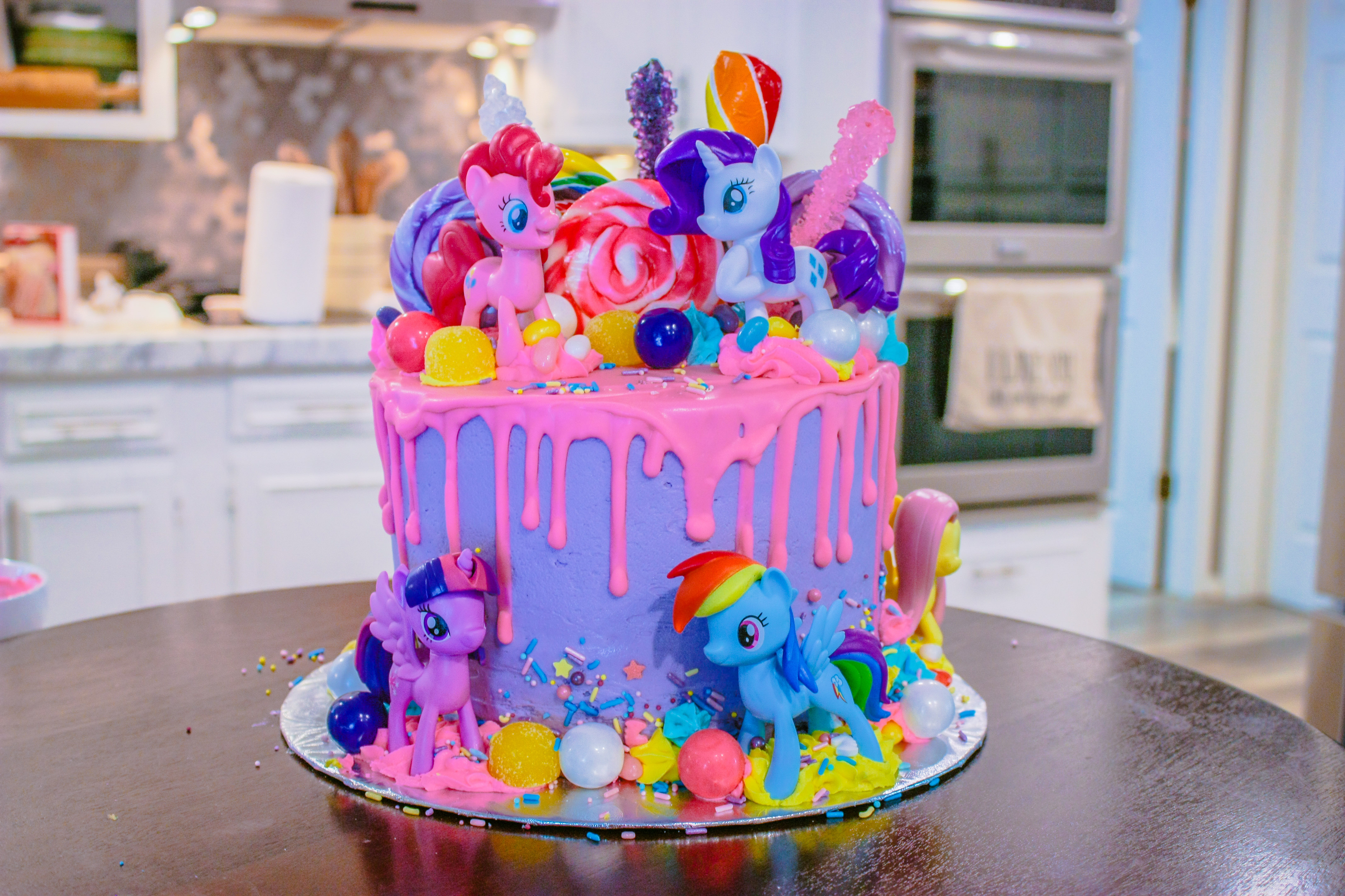 Miraculous My Little Pony Cake Jennifer Cooks Funny Birthday Cards Online Eattedamsfinfo