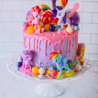 My Little Pony Cake | JenniferCooks.com