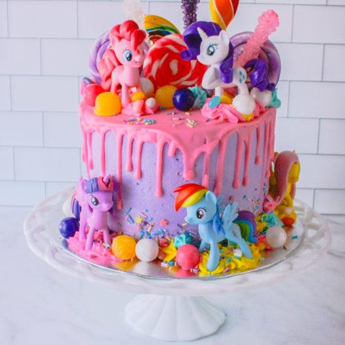 Pleasant My Little Pony Cake Jennifer Cooks Personalised Birthday Cards Paralily Jamesorg