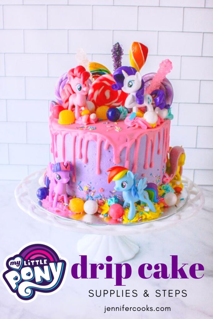 My Little Pony Cake | JenniferCooks.com