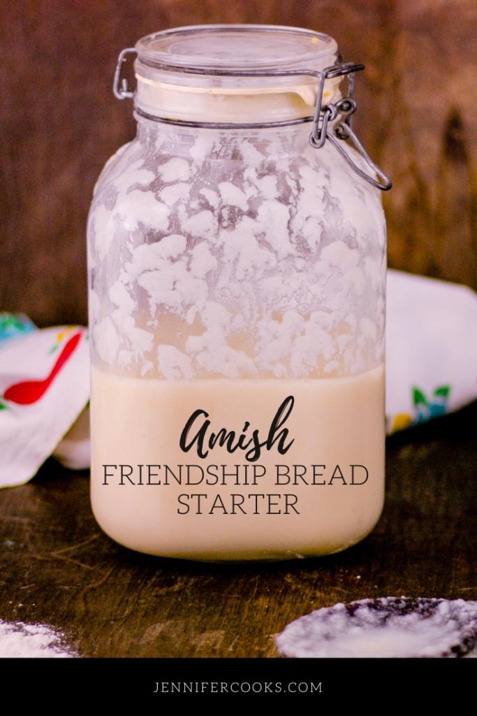 Amish Sourdough Friendship Bread Starter | JenniferCooks.com