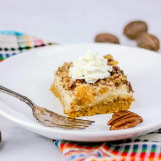 Pumpkin Dump Cake | JenniferCooks.com