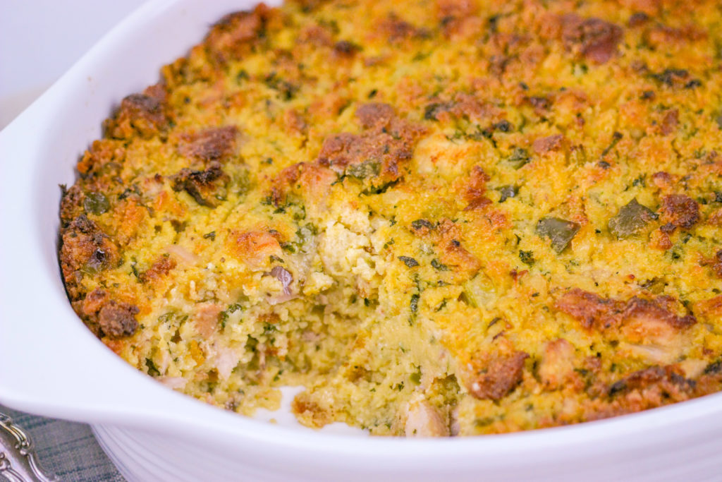 Southern Cornbread Dressing | JenniferCooks.com