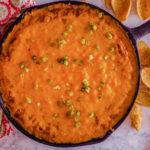 Warm Skillet Bean Dip | JenniferCooks.com