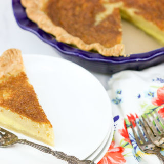 Buttermilk Pie | JenniferCooks.com