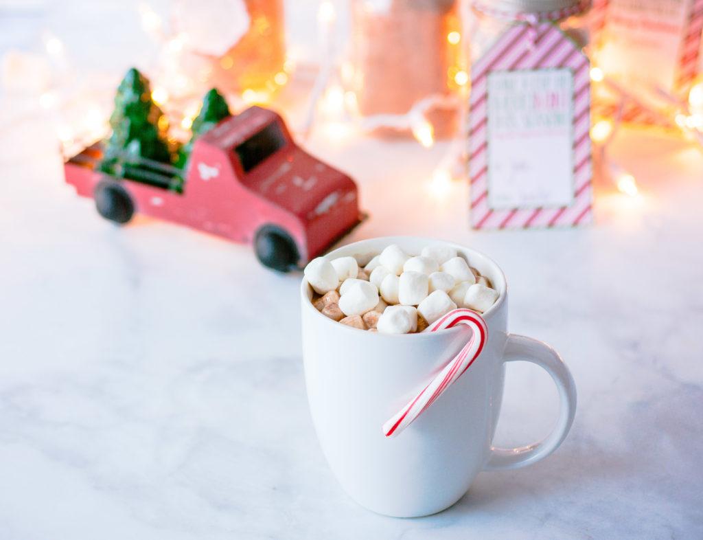 Peppermint Hot Cocoa Mix | JenniferCooks.com