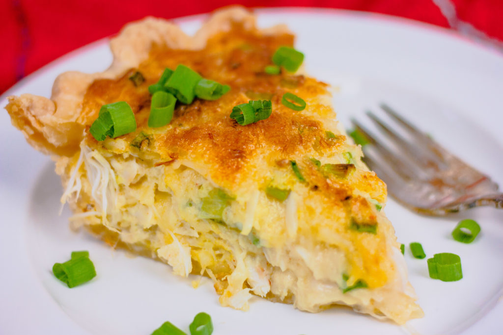 Crab Quiche | JenniferCooks.com
