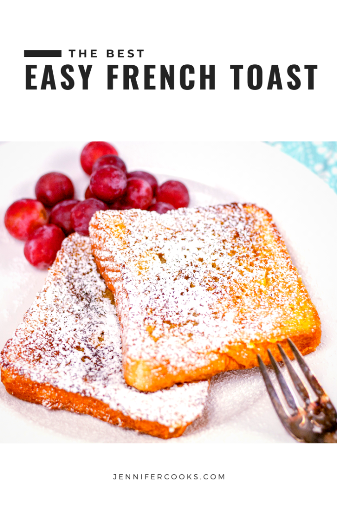 Easy French Toast Pinterest Pin