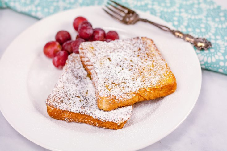French Toast dusted with powdered sugar